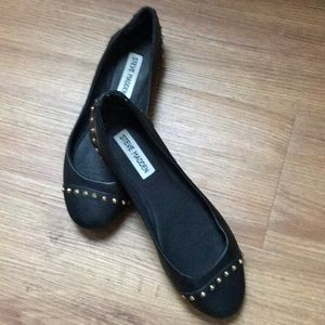 Steve Madden faux leather flats